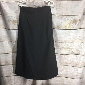 Components sports wear size 12 black pocket skirt
